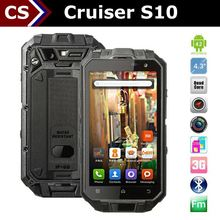 Cruiser S10 rugged android dual sim phone with 1.5GHz/2+13MP/1+16GB/IPS/GPSOne Gen 7/wireless charging/glove touch