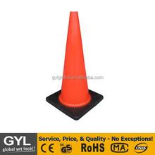 100cm colored traffic cone, road safety cone