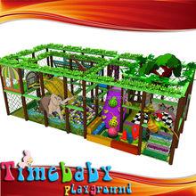 Cheap colorful kids indoor playground equipment, jungle theme entertainment children game equipment