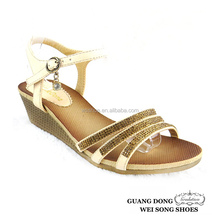 China Wholesale Wedge High Heels women nice wedges sandals shoes