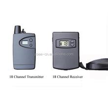 18RL tour guide equipment for Travel group