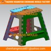 Kids family naturism plastic folding chairs moulded
