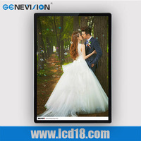 19.1 inch open frame motion activated wall mount interactive lcd advertising player