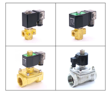 PU Series Normally Open 240V Water Solenoid Valve