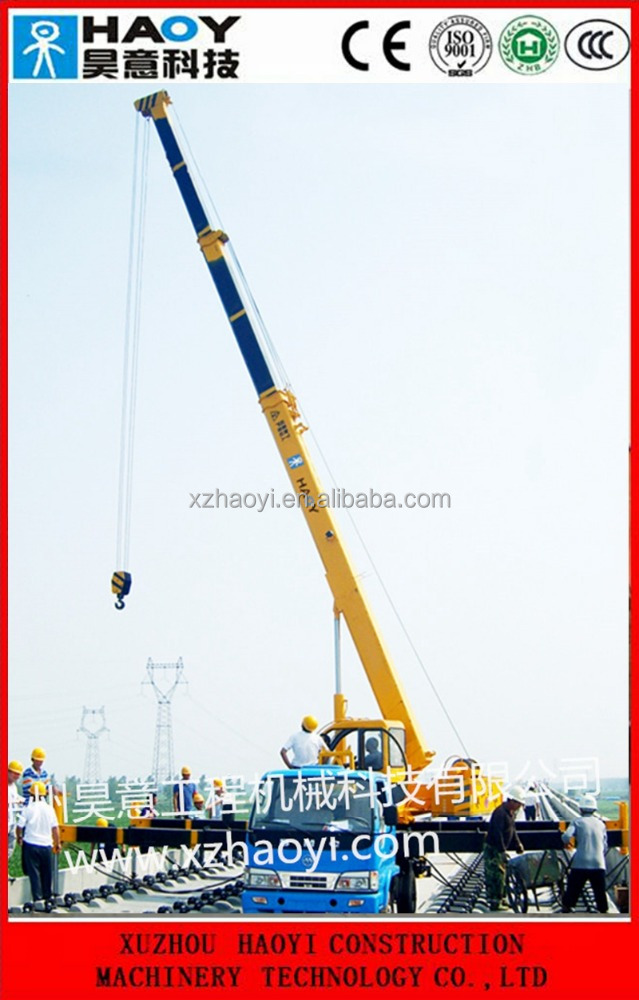 Telescopic Crane Training : Railway crane telescopic hydraulic for sale