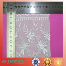20005 white colour Embroidered Guipure Lace