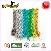 Over 30 solid colors 100% cotton yarn importers from China
