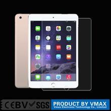 China factory price anti fingerprint tempered glass screen protector for ipad mini 3