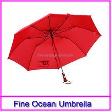 2015 cheap fashion custom red golf umbrella, china cheap golf umbrella, chinese new golf umbrella gift