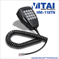 VITAI HM-118TN High Performence Two Way Radio Transmitter Speaker Microphone For IC-2200H IC-2720H IC-2725E IC-V8000 Model