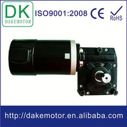 worm gear motor 12V24V 250W with high torque dc motor 500 watts