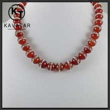 elegant natural stone/ agate stone for necklace