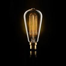 E27 40W Edison Tungsten Filament Vintage Light Bulb ST64 220V