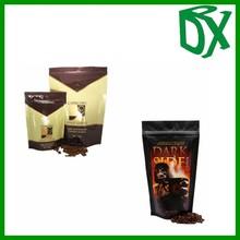 moistureproof heat seal foil lined kraft paper coffee packaging bags