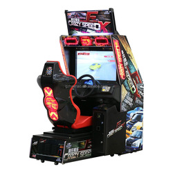Amusement playground arcade games car race game car driving simulator arcade game king of fighter