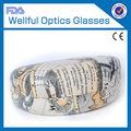 2012 moda atacado personalizado caso óculos de sol