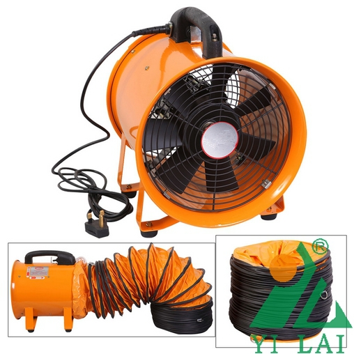 Low Noise Portable Exhaust Duct Fan For Welding Project