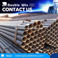 Square black steel pipe / construction Material / hollow pipe prices