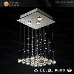 Crystal chandelier,crystal balls drops crystal lighting planet shape OM756-30