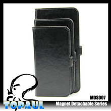 flip wallet stand custom pu leather phone case made in china for iphone 6