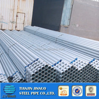 galvanzied pipe with EN10025 threded socket alibaba