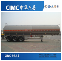 CIMC Resistance Acid and Alkali Fuel Tanker Semi Trailer