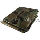 Military tarp with durable aluminum grommets , pe tarpaulin sheet