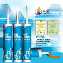fast cure, not-pale, general purpose acetic silicone sealant