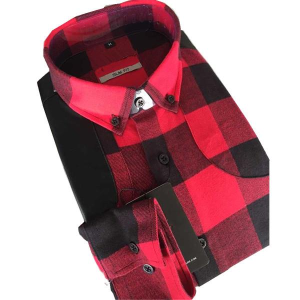 Unique flannel shirts elbow patch mens casual dress shirts for Mens flannel shirt with elbow patches