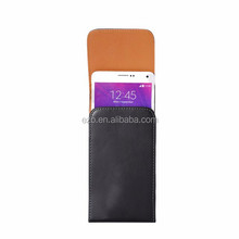 New Fashion black Waist to hang Lichee pu Leather Pouch Holster belt clip for Nokia 535 Cover phone cases