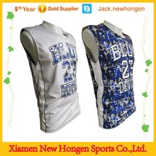 Fashion camouflage basketball jersey/basketball uniform/basketball wear