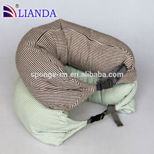 neck pillow filled with polystyrene beads,micro beads travel neck pillow,pillow stuffing particle