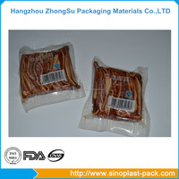 Customized food grade plastic packaging bag on roll