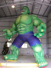 Custom High Quality Inflatable Giant Incredible Monster Hulk
