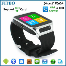 ladies fashion OEM GSM Pedometer FITBO touch screen wrist watch phone