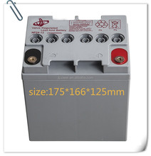 UL&CE 12v24AH AGM Rechargeable AGM storage battery for UPS sealed lead acid battery