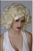 Marilyn Monroe performance wig stage cos animation festival men and women