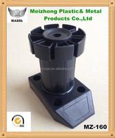 80mm-150mm modern plastic heavy duty legs for kitchen cabinet