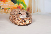 Dog Indoor Houses Hot Selling Leopard Print Pet House For Dogs