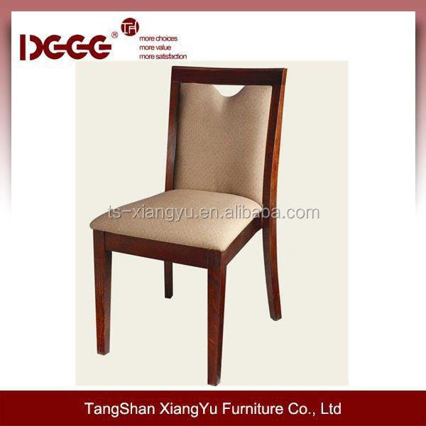 marco de madera maciza tapizado silla de comedor-Sillas de madera ...