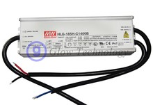 Meanwell HLG-185H-C Series 200W Single Output LED Power Supply HLG-185H-C1400 HLG-185H-C1400A HLG-185H-C1400B 1400mA