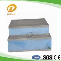 Hard foam insulation panels with hardboard paneling