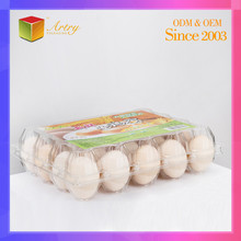 In Stock Food Grade Direct Selling Plastic Egg Tray