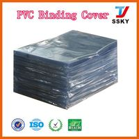 Hot sale school exercise with pvc clear film for coverings loose-leaf book cover