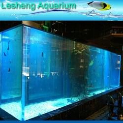 acrylic plastic ocean fish tank