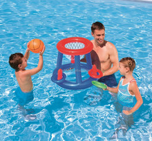 Inflatable Basketball AND Ring Toss Pool Game
