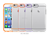[New Arrival] TPU(colorful)+PC(clear or rubber coated) protect case cover for iPhone 6 4.7 inch