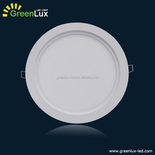 warm white recessed fixtured 18w diameter 300mm Dimmable round panels light 3 years warranty