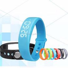 Swity W5 3d pedometer wristband,sport bracelet watch,smart bracelet pedometer