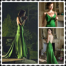 newest green cocktail dresses
